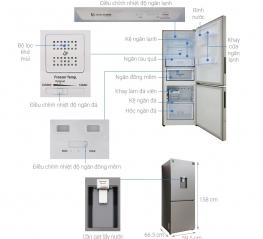 Tủ lạnh Samsung RB27N4170S8/SV - 276 Lít, Digital Inverter
